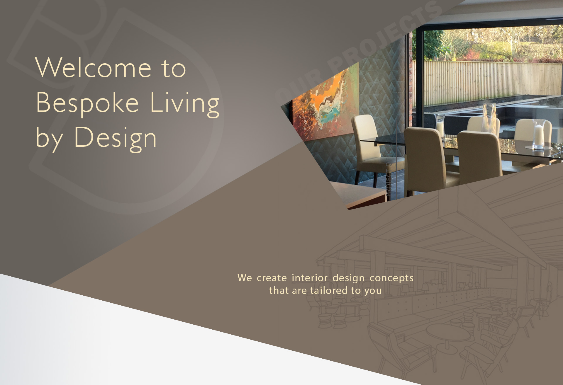 Interior design consultant bespoke interior design for Interior design consultant company